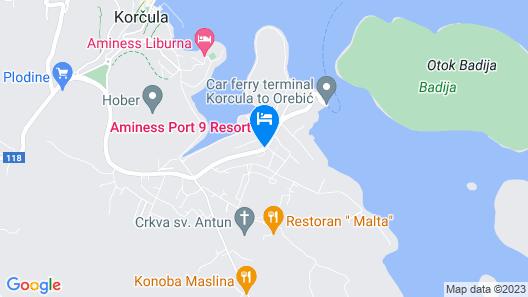 Port 9 Apartments Map