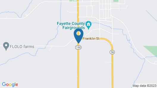 Elms Motel Map