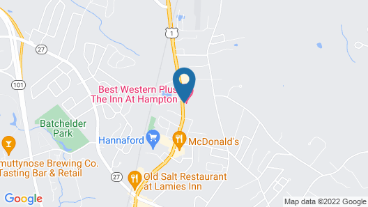 Best Western Plus The Inn at Hampton Map
