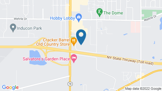 Tru by Hilton Williamsville Buffalo Airport Map