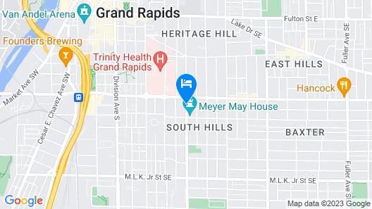 The Parsonage Inn LLC Map