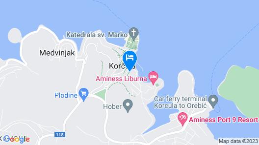 Apartments Neno Map