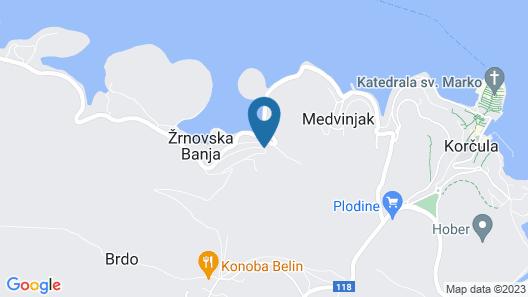 Korcula Hill Map
