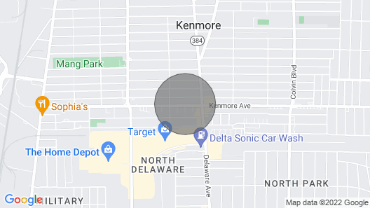 Kenmore Home - 15 Miles to Niagara Falls! Map