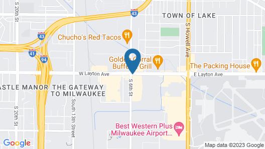 Sleep Inn & Suites Airport Map