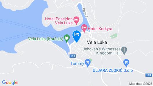 Guest House Mara Map