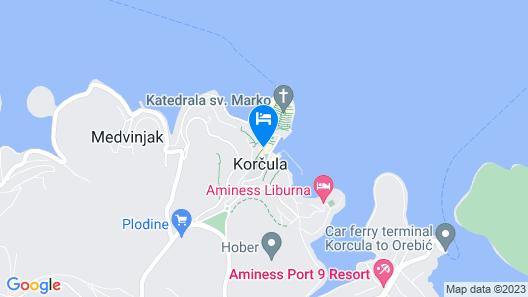 Apartments and Rooms Katja & Egon Map