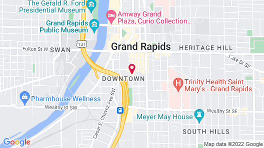 Canopy by Hilton Grand Rapids Downtown Map