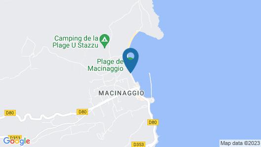 Adonis Macinaggio Map
