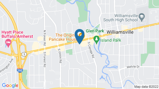 Hampton Inn Buffalo-Williamsville Map