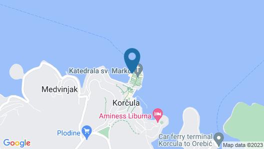 Aminess Korcula Heritage hotel Map