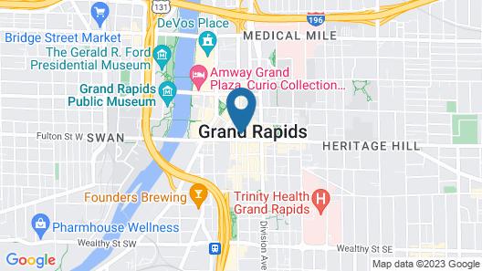Residence Inn by Marriott Grand Rapids Downtown Map