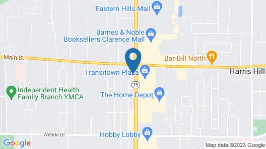 FairBridge Inn Express Buffalo Airport / Williamsville Map