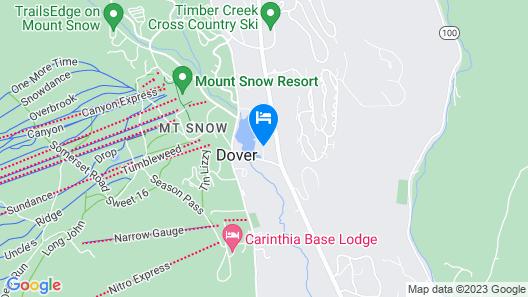 Snow Lake Lodge Map
