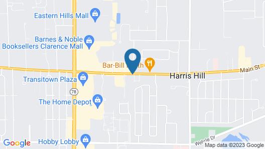 Budget Inn Buffalo Airport Map