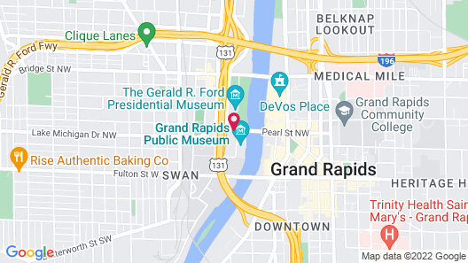 Holiday Inn Grand Rapids Downtown Map