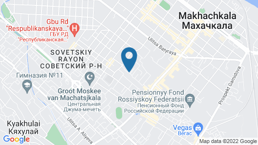 Apartments in Makhachkala Map
