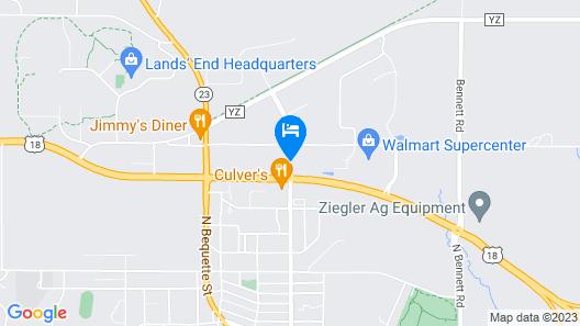 Best Western Dodgeville Inn & Suites Map