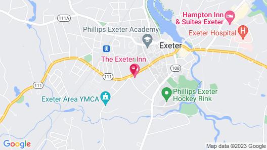 Exeter Inn Map