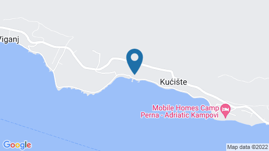 Apartment Igo - Kuciste, Peljesac Peninsula, Croatia Map