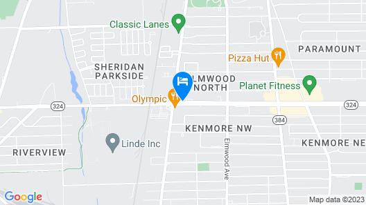 Scottish Inns Kenmore Map