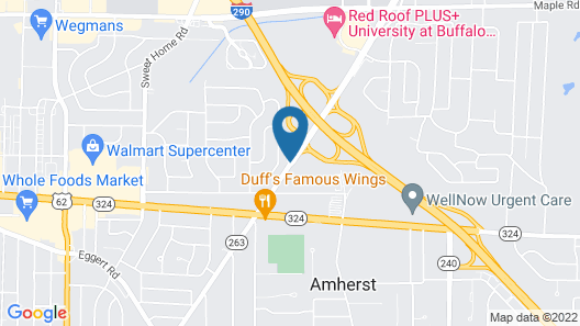 Homewood Suites by Hilton Buffalo/Amherst Map