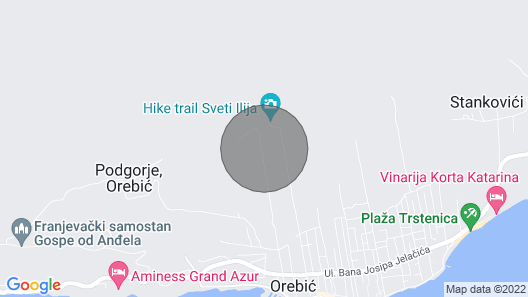 Nice Home in Orebic With Wifi and 6 Bedrooms Map