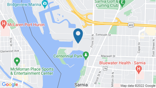 Days Inn by Wyndham Sarnia Harbourfront Map
