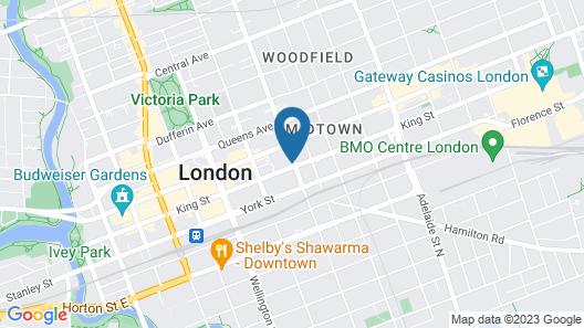 Residence Inn by Marriott London Ontario Map