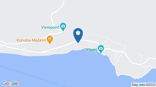 Ferienwohnung 3870-1 für 6 Pers. in Viganj Map
