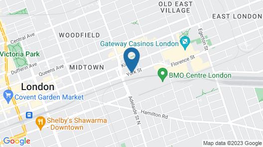 Econo Lodge London Map