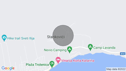 Apartments Spomenka - Orebic Map