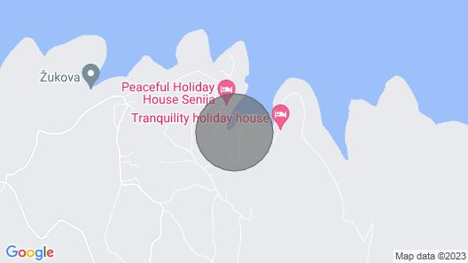 Stone House Mia - Prihonja Map
