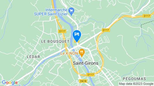 L'Enclos Des Jacobins Map