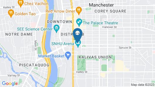 Residence Inn by Marriott Manchester Downtown Map