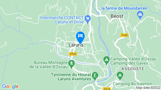 Gite Lou Cujala de Roger Map