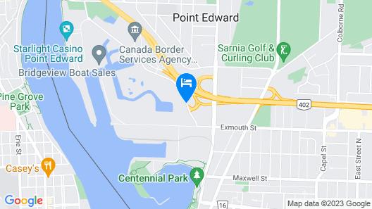 Best Western Plus Guildwood Inn Map
