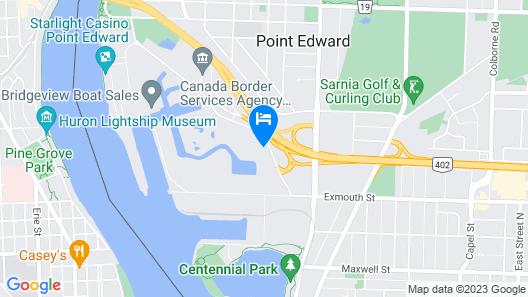 Holiday Inn Express Sarnia - Point Edward, an IHG Hotel Map