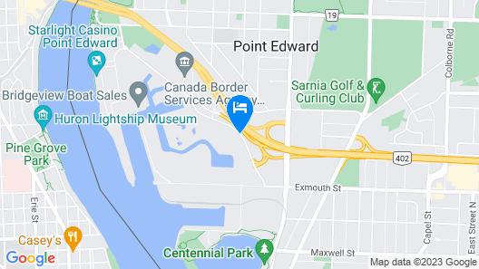 Hampton Inn by Hilton Sarnia/Point Edward Map