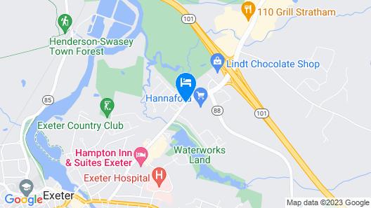 Fairfield Inn & Suites by Marriott Portsmouth Exeter Map