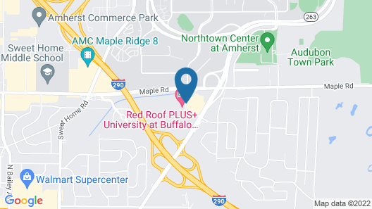 Red Roof Inn PLUS+ University at Buffalo - Amherst Map