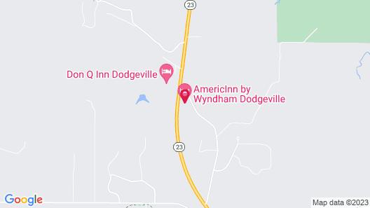 AmericInn by Wyndham Dodgeville Map