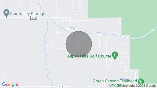 Cabin Apartment , Grand Tetons, Yellowstone, Golf, Rafting, Snowmobiling, Skiing Map