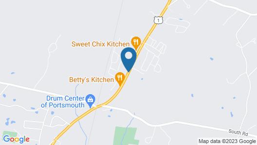 Pine Haven Motel Map