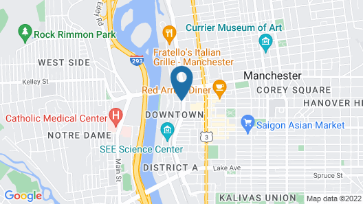 Tru by Hilton Manchester Downtown Map