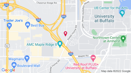 Fairfield Inn & Suites by Marriott Buffalo Amherst/University Map