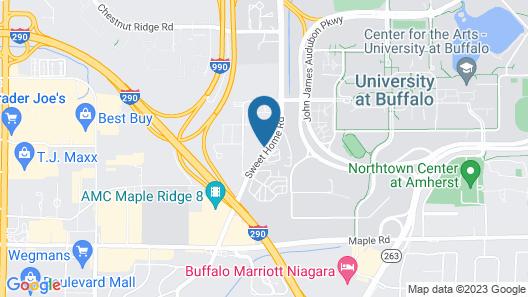 Staybridge Suites Buffalo-Amherst, an IHG Hotel Map