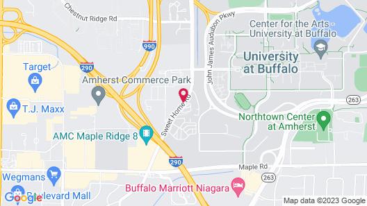 Staybridge Suites Buffalo-Amherst Map