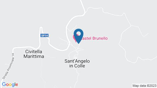 Castel Brunello Map
