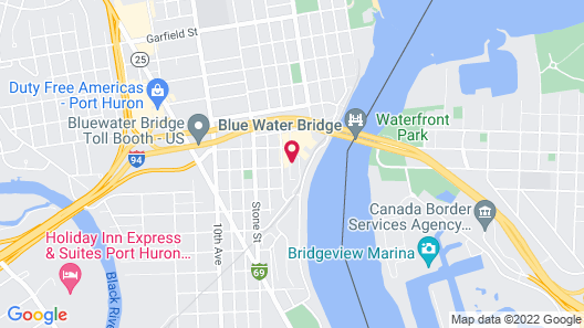 DoubleTree by Hilton Hotel Port Huron Map